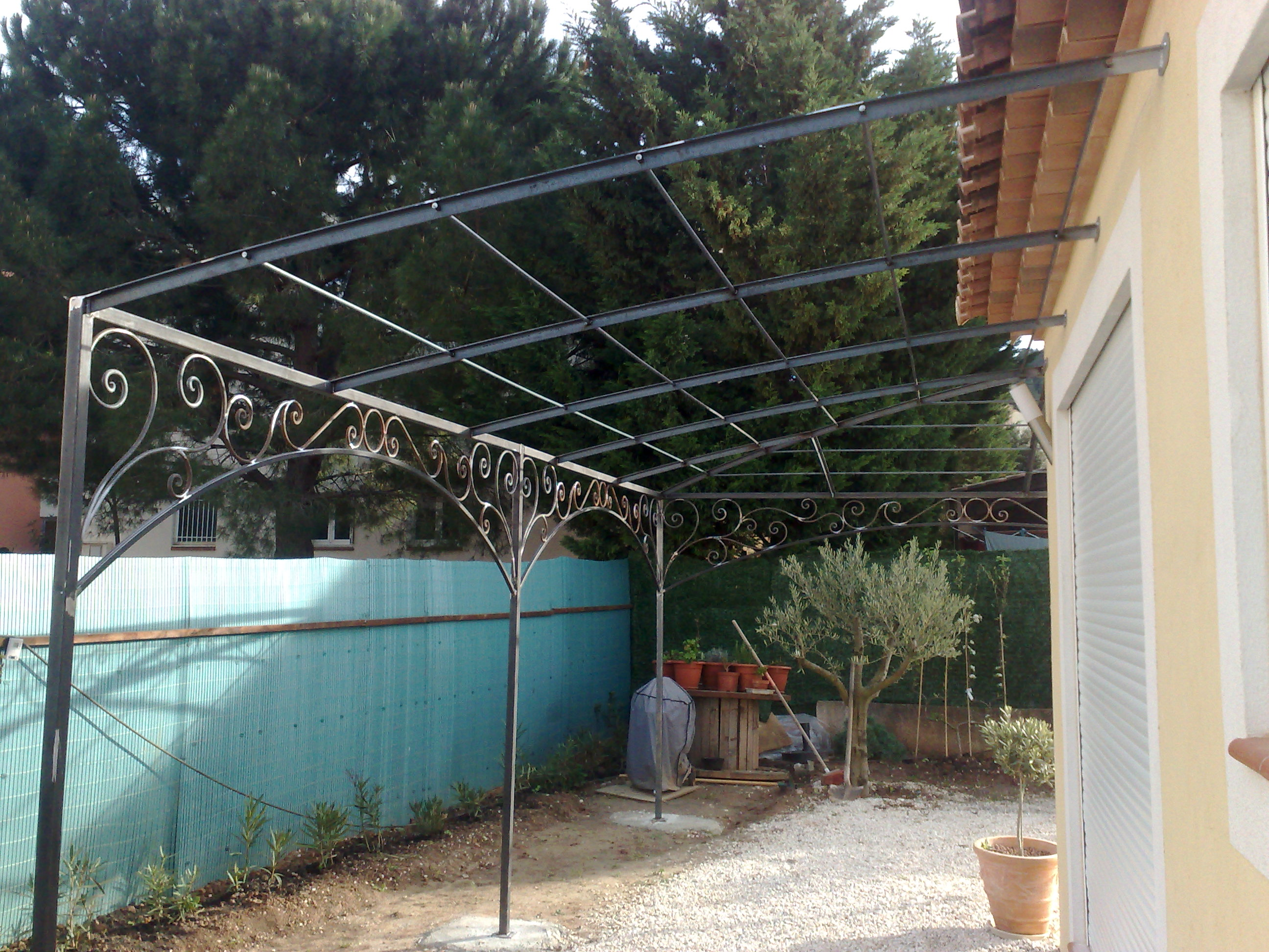 Pergola en fer forge fashion designs - Pergola fer forge ...