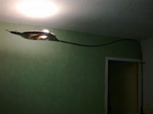 lampe, plafonnier fer forgé - éclairage ferronnerie faufer. éclairage décoration fer. livraison sur toute la france