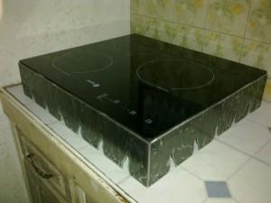 solution plaque de cuisson à encastrer - fer forgé - plaque de cuisson à encastrer non-encastrée